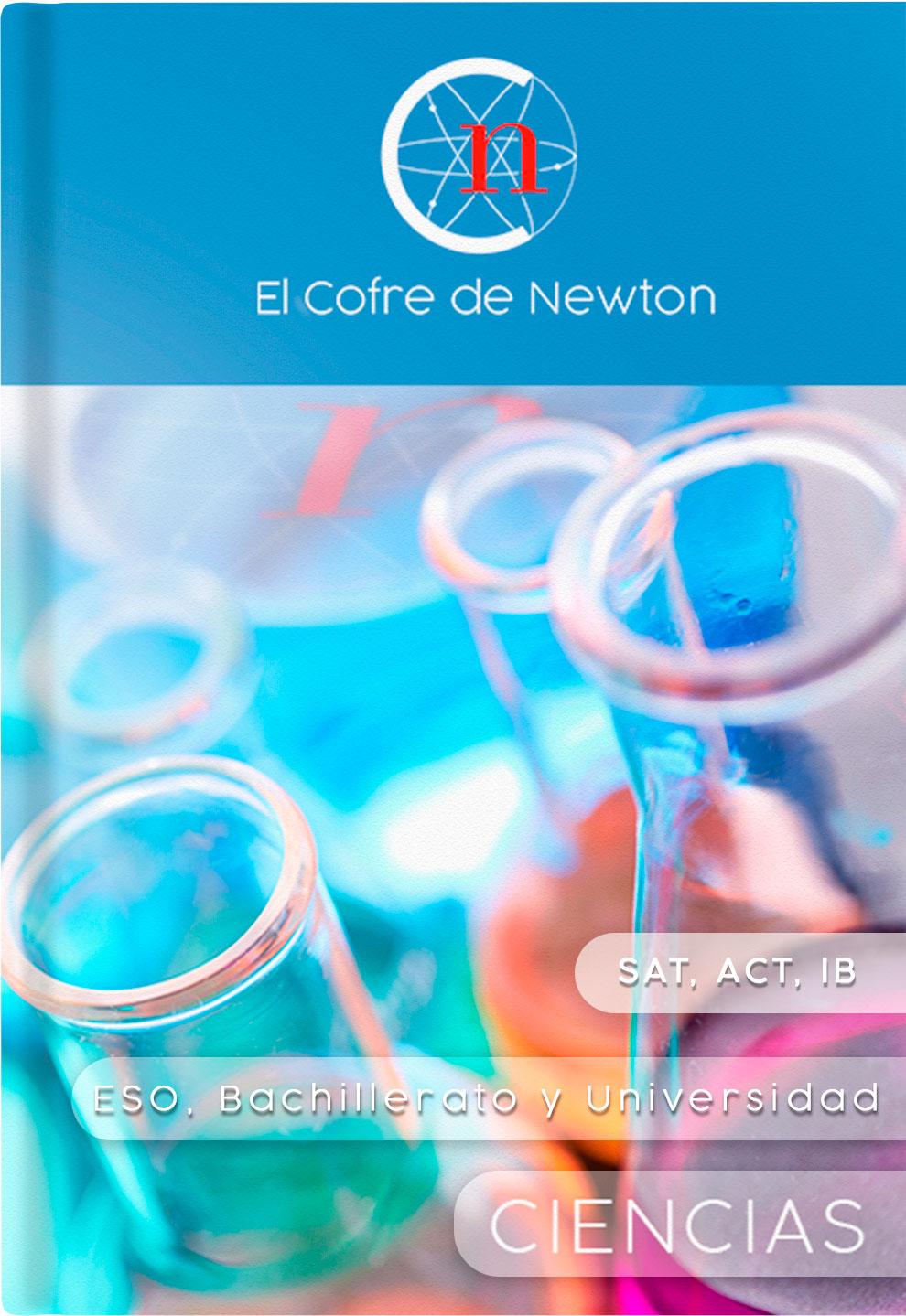Libro de asignaturas El cofre de Newton